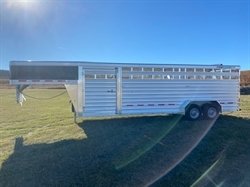2021 FEATHERLITE 8127 Stock Trailer 7FTX24FT