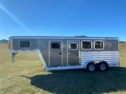 2021 FEATHERLITE 7541 Gooseneck 3 Horse