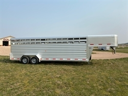 2020 Exiss 7FTX24FT Stock Trailer