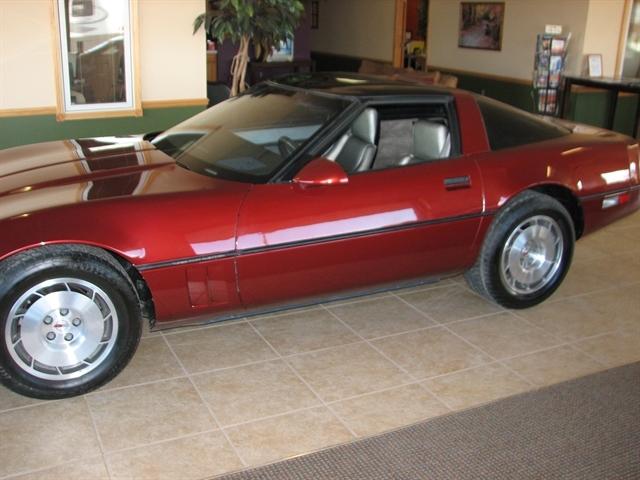 Stock# CSGA110 USED 1986 Chevrolet Corvette | Rapid City ...
