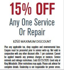 15% Off Any One Service or Repair