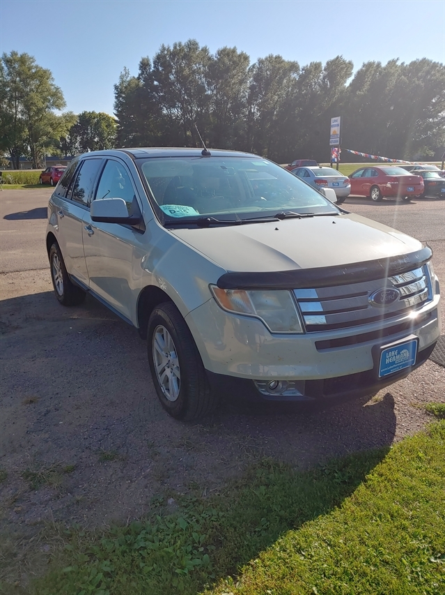 stock p4028d used 2007 ford edge madison sd lake herman auto sales lake herman auto sales
