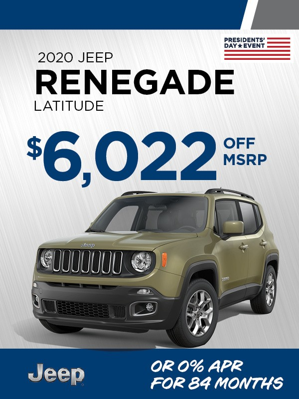 Feb '21 CDJ-Jeep Renegade Latitude