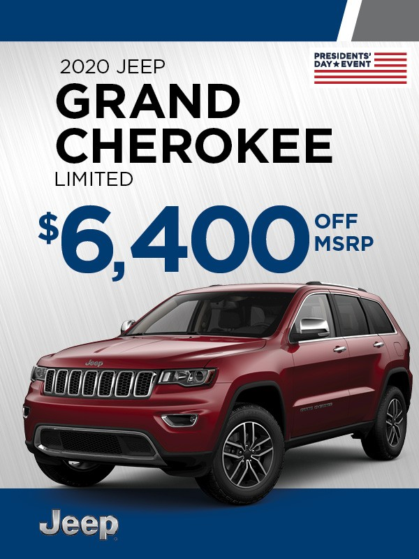 Feb '21 CDJ-Jeep Grand Cherokee Limited