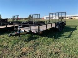 """2021 Big Tex 77""""x16FT Utility Trailer"""