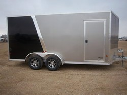 2017 EZ HAULER EZC 7x16TA HAIL SALE DISCOUNTED