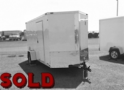 2017 Americas Best Cargo 6x12ft HAIL SALE DISCOUNTED