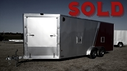 2018 EZ HAULER 7x18ft Snow Trailer