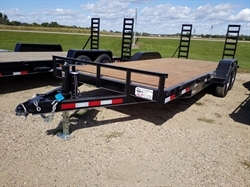 2020 H & W 7x20ft All Purpose Flatbed