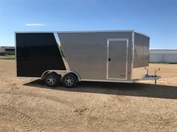 2018 EZ HAULER 7.5x18ft Enclosed