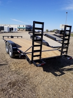 2019 H&W 7x20ft w/ Fold Up Ramp