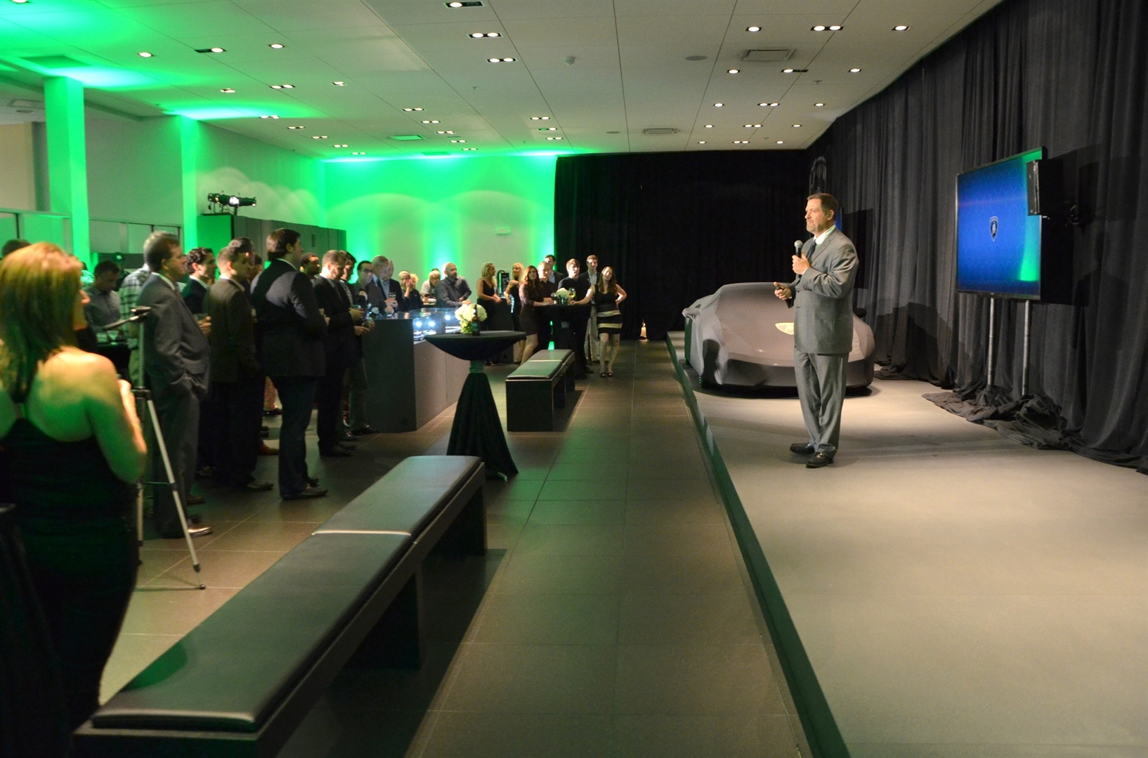 Lamborghini Huracan Spyder Unveiling 2015