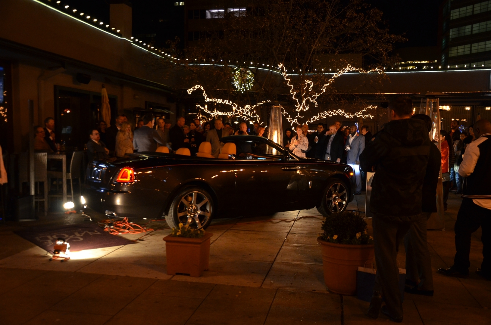 2016 Rolls-Royce Dawn Unveiling at Cafe Napoli