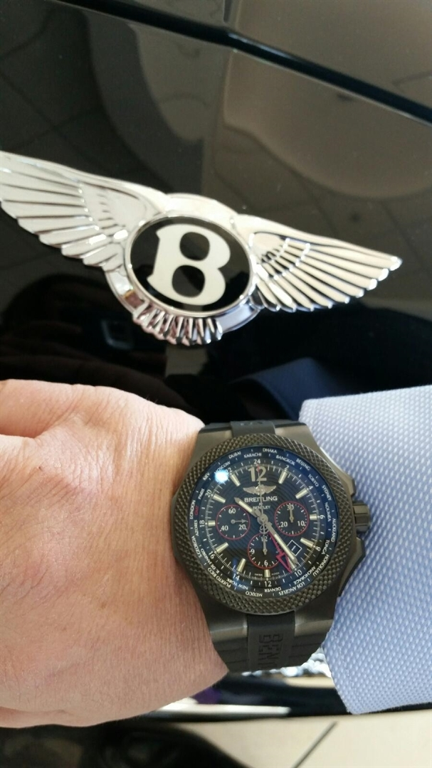 Bentley and Breitling Cars & Coffee