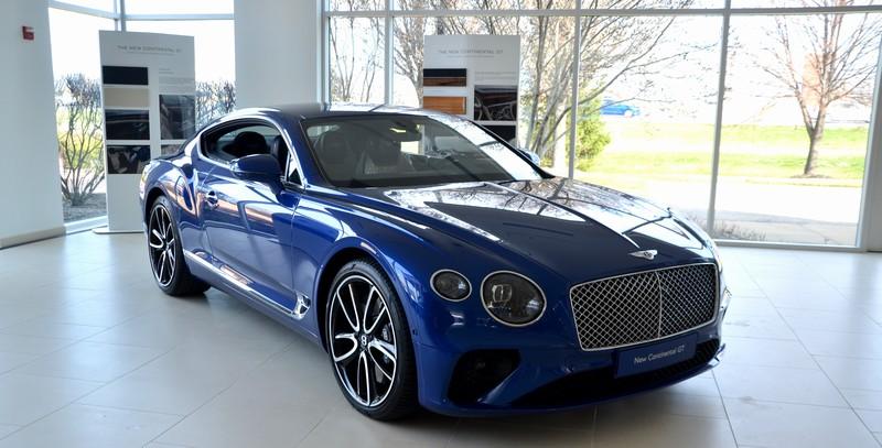 Bentley Continental GT Reveal