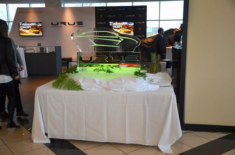 Urus Launch Event