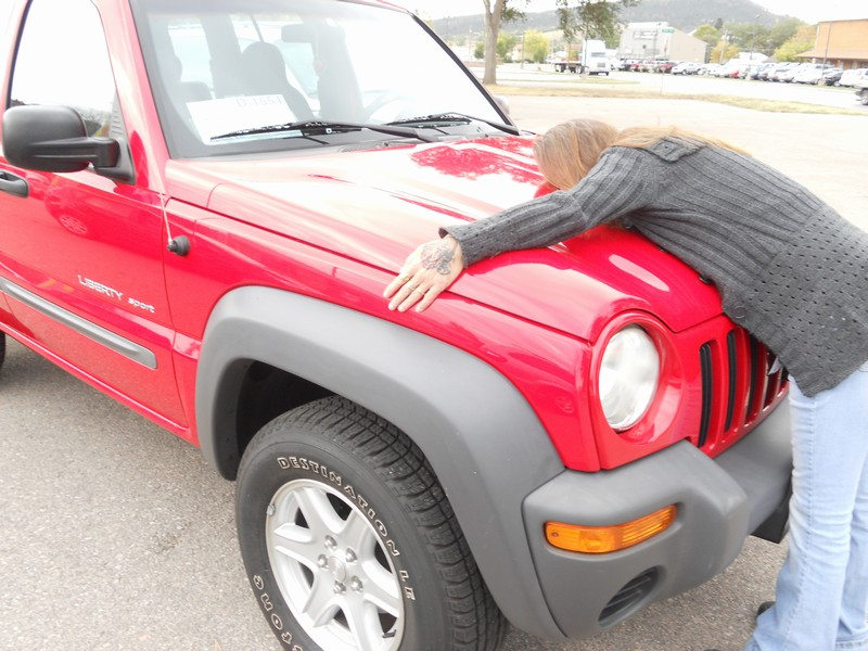 Renee loving her Jeep!