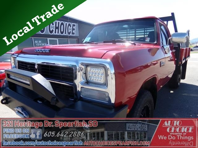 Stock  10827 Used 1991 Dodge D250  U0026 W250 Trucks
