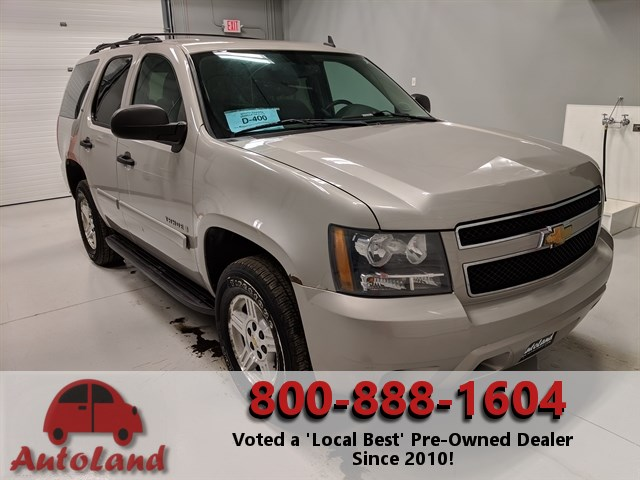 Autoland Sioux Falls >> Stock# 9111A USED 2008 Chevrolet Tahoe | Sioux Falls, SD | Used Auto Sales