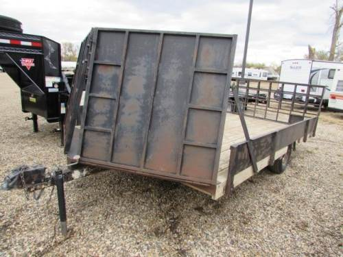 1991 HOME MADE EZ LOADER TRAILERS