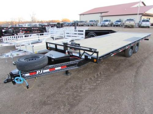 2020 P.J. TRAILER 22 FT DECKOVER TILT