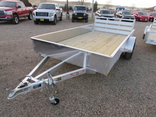 2021 H & H TRAILER 12FT. ALUMINUM