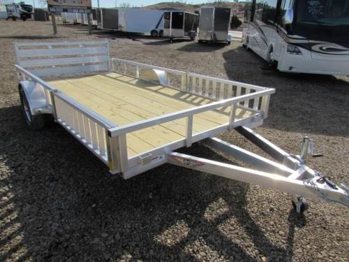 2021 H & H TRAILER 14 FT DUAL ATV