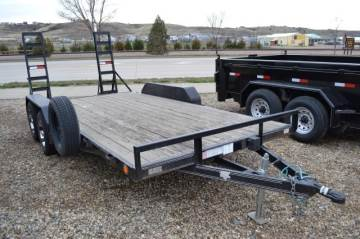 2016 PJ 14 FT EQUIPMENT TRAILER