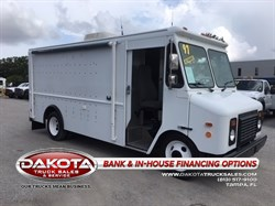 1997 CHEVROLET P30 13FT STEPVAN/FOOD TRUCK W/REAR A/C