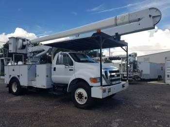 2008 FORD F-750 60FT Bucket Truck