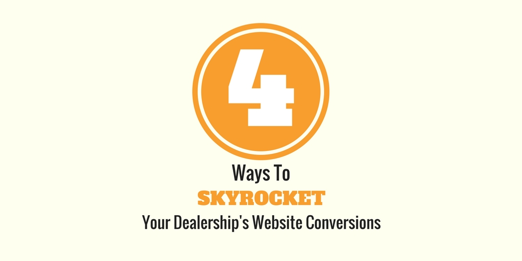 Four Ways To Skyrocket Your Website Conversions
