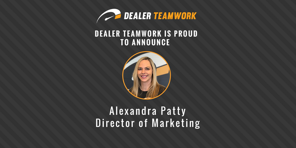 Dealer Teamwork Adds Alexandra Patty as Director of Marketing