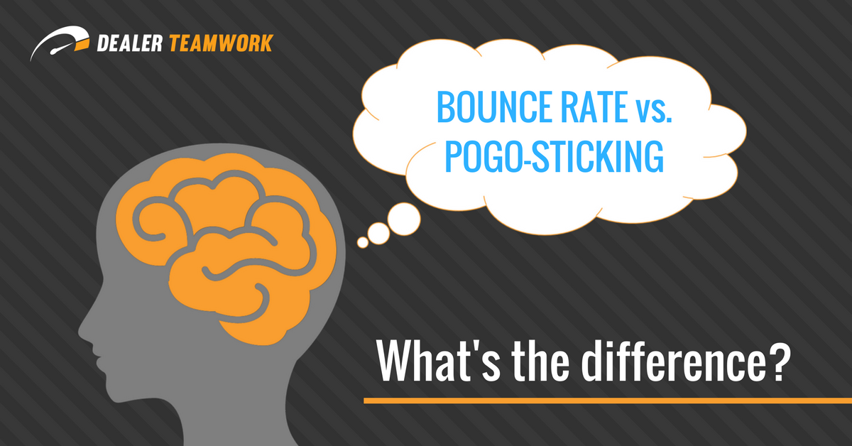 What is the Difference Between Bouncing and Pogo-Sticking?