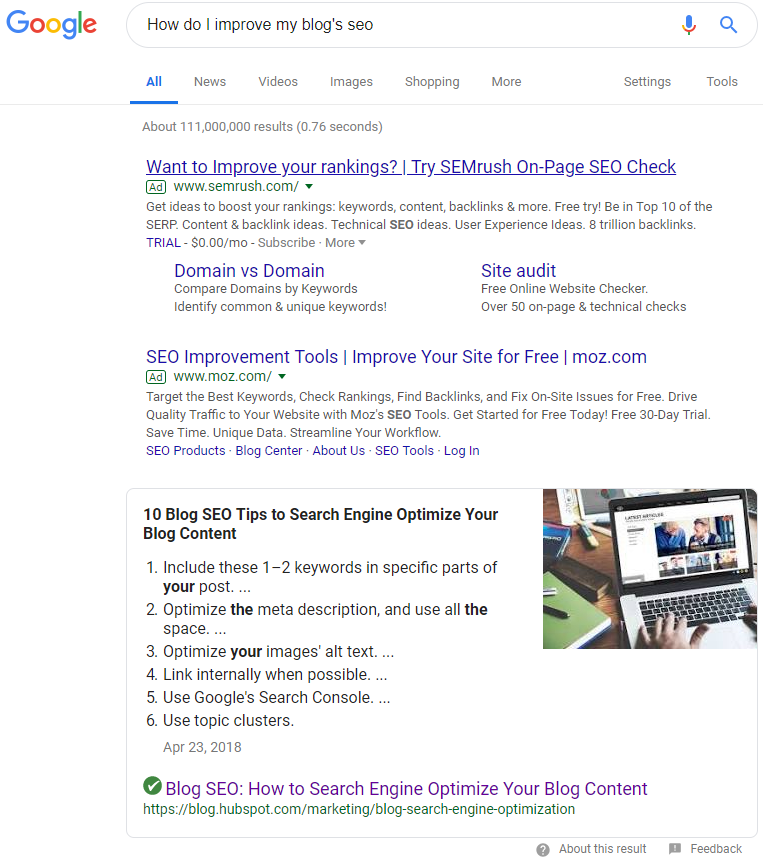 How to Optimize your Blog for SEO [5 Effective Tips]