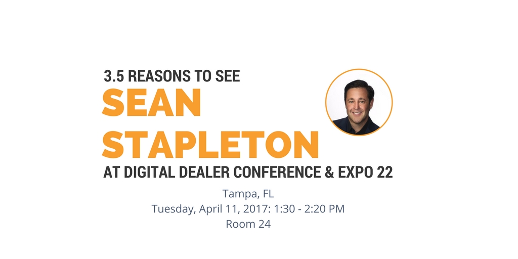 3.5 Reasons To See Sean Stapleton's Digital Dealer 22 Session