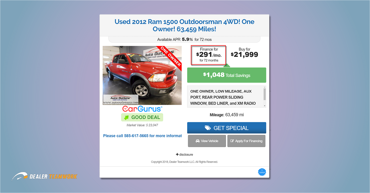 How To Optimize Your Used Vehicle Offers