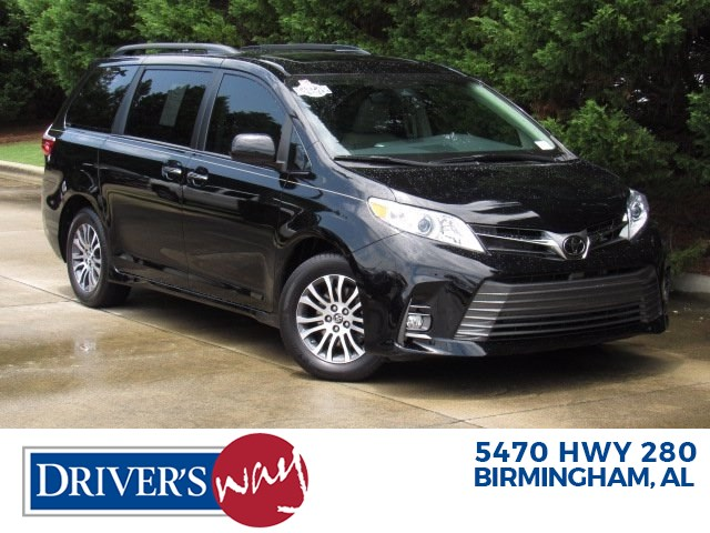 stock d53268 used 2020 toyota sienna pelham alabama 35124 driver s way driver s way