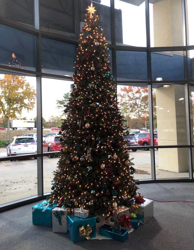 Driver's Way Christmas Tree