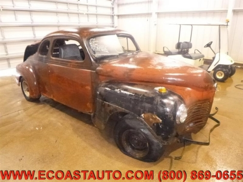 1946 Plymouth Deluxe Coupe