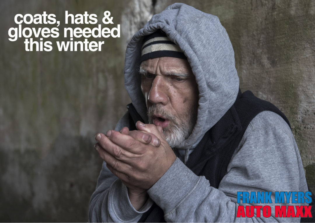 Homeless Need Coats This Winter