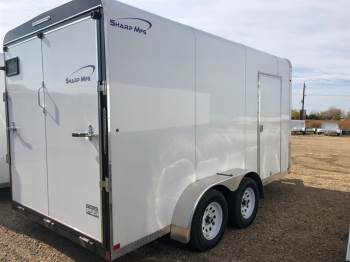 2018 SHARP 7X14 Enclosed Cargo Trailer