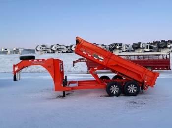 2020 MIDSOTA HV-14 Gooseneck Dump Box