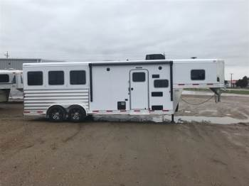 2019 EXISS 7308 Escape 3 Horse Living Quarters