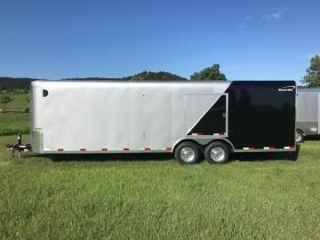 2019 SHARP ENCLOSED CAR HAULER