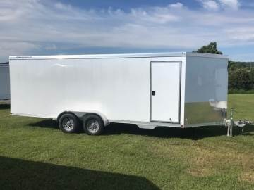 2020 FEATHERLITE 1610 ENCLOSED SNOW/UTV,MOTORCYCLE TRAILER