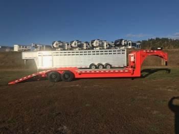 2020 MIDSOTA STWB-26 Gooseneck skid loader wide body