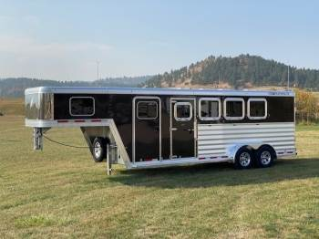 2021 FEATHERLITE 7541 Gooseneck 4 Horse