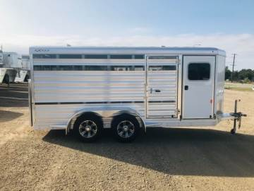 2021 EXISS EXHIBITOR MINI COMBO 6X15 PIG TRAILER