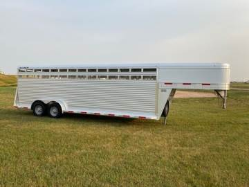 2022 SOONER 7FTX24FT STOCK TRAILER