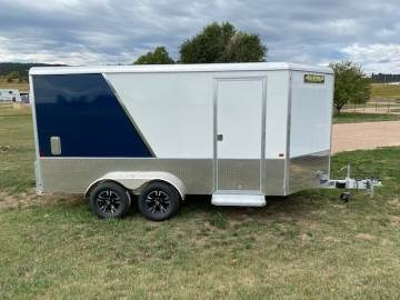 2021 ALUMA 7X14 EXCUTIVE PACKAGE ENCLOSED TRAILER